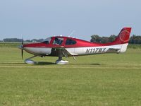 N117MX @ EHTX - taxi to rwy after airshow - by Volker Leissing
