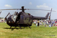 87 06 @ EGVA - Pictured at RIAT RAF Fairford EGVA 1997 whilst serving with German Army (Heer) HFR-36 - by Clive Pattle