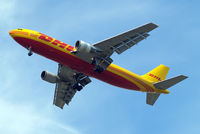 D-AEAS @ EGLL - Airbus A300B4-622R [737] (DHL) Home~G 11/07/2015. On approach 27R. - by Ray Barber