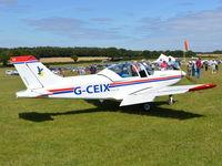 G-CEIX @ EGHP - Pioneer 300 at Popham. - by moxy