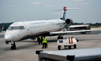 N905J @ KCLT - At the gate CLT - by Ronald Barker