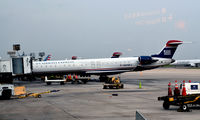 N919FJ @ KCLT - At the gate CLT - by Ronald Barker