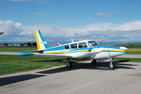 C-FWYC @ CYBW - PA-30 at Springbank Airport - by Jack Poelstra