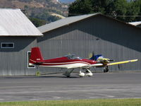 N80WJ @ SZP - 2015 Richmond VAN's RV-7A, ECI TITAN IOX-360-A4H1N 191 Hp, taxi to Rwy 22 for pattern work - by Doug Robertson