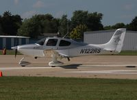 N122RS @ KOSH - Cirrus SR22 - by Mark Pasqualino