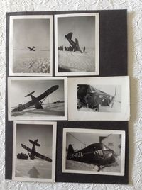 CF-BZL - The plane piloted by my father. It crashed in a field on the outskirts of Winnipeg in early 1948 - by Photos were taken by the local media at the time of the crash
