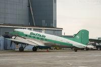 C-FLFR @ CYZF - Being prepped @ Buffalo hangar. - by Remi Farvacque