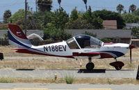 N188EV @ KRHV - A locally based 2007 Sportstar Plus landing runway 31R at Reid Hillview Airport, CA. - by Chris Leipelt