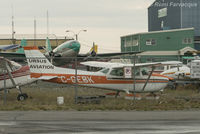 C-GEBK @ CYZF - Appears to be in scrap section of Ursus Aviation yard. - by Remi Farvacque