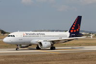 OO-SSM @ LMML - A319 OO-SSM Brussels Airlines - by Raymond Zammit