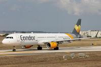 D-AIAF @ LMML - A321 D-AIAF Condor - by Raymond Zammit