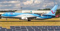 D-ATUQ @ EDDR - Boeing737-800 - by Jerzy Maciaszek