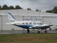 ZK-VIP @ NZAR - Outside hawker pacific today - by magnaman