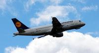 D-AILX @ EGCC - Departing Manchester Airport EGCC - by Clive Pattle