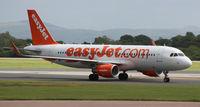 G-EZOH @ EGCC - At Manchester Airport EGCC - by Clive Pattle