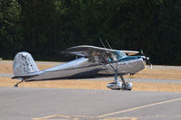N140F @ PLU - Cessna 140 taxing in for Cubs and Classics at Thun Field. - by Eric Olsen