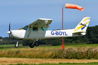 G-BOYL @ X3CX - Landing at Northrepps. - by Graham Reeve