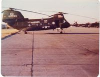 157703 - CH-46F 157703, Attached to HMH-461 from HMM-162  Nov  1976 - Mar 1977 - by Jonathan Primm