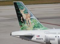 N926FR @ FLL - Domino the Deer Fawn Frontier
