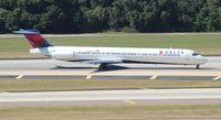 N937DL @ TPA - Delta MD-88