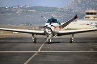 N201JH @ KRNM - Taxing for runway - by Michael Mannschreck