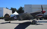 N940AK @ KMRY - Curtiss P-40E