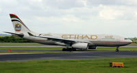 A6-EYT @ EGCC - In action at Manchester Airport EGCC - by Clive Pattle