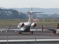 B-8280 @ NZAA - long range view from car park roof - by magnaman