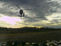 C-FWII - Working north of Fort St John, BC. - by Remi Farvacque