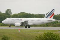F-GRHI @ LFRB - Airbus A319-111, Take off run rwy 25L, Brest-Bretagne Airport (LFRB-BES) - by Yves-Q