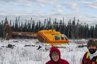 C-GIZO - Working in the bush northwest of Fort Nelson, BC. - by Remi Farvacque