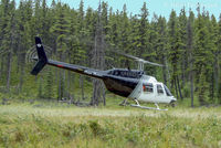C-GRPT - Working in the bush east of Tumbler Ridge, BC. - by Remi Farvacque