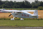 G-CEJE @ EGNU - at the Vale of York LAA strut flyin, Full Sutton - by Chris Hall