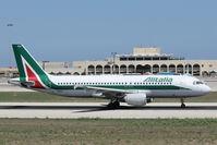 I-BIKA @ LMML - A320 I-BIKA Alitalia - by Raymond Zammit