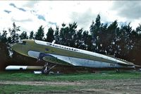 ZK-BKD - Took this picture in 1989 at UtUtuhina, Bay of Plenty, New-Zealand. This DC3 stood there just across the road along Rotorua Airport; actually it stood outside of the airport. - by Driek Zwaan