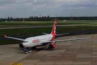 D-ALPC @ EDDL - Daily MIA shuttle is ready for taxi to rwy 23R.... - by Holger Zengler