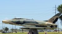 56-3154 @ GLS - 1956 NORTH AMERICAN F-100D SUPER SABRE - by dennisheal