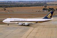 9V-SMW @ YMML - Boeing 747-412 [27178] (Singapore Airlines) Melbourne-International~VH 20/03/2007