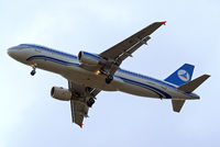 4K-AZ77 @ EGLL - Airbus A320-214 (2846] (Azerbaijan Airlines) Home~G 11/06/2013. On approach 27R. - by Ray Barber