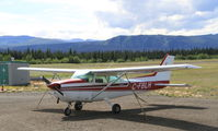C-FBLH @ CYDB - Tied down at Burwash Landing, Yukon. - by Murray Lundberg