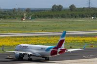 D-AIZR @ EDDL - In new EUROWINGS livery.... - by Holger Zengler