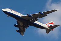 G-CIVM @ EGLL - Boeing 747-436 [28700] (British Airways) Home~G 01/03/2010. On approach 27R.