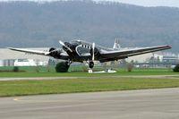 HB-HOS @ LSZF - Junkers Ju.52/3mg4e [6580] (Ju-Air) Birrfeld~HB 08/04/2009