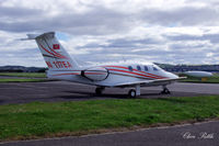 N117EA @ EGPN - Parked up at Dundee EGPN - by Clive Pattle