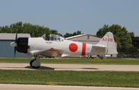 N11171 @ KOSH - North American AT-6B - by Mark Pasqualino