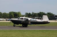 N1084L @ KOSH - Mooney M20J - by Mark Pasqualino