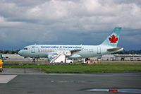 C-GBHM @ YVR - Stephen Harper's campaign airplane - by metricbolt
