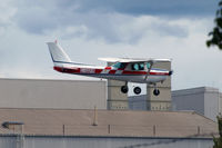 C-GGFR @ KRNT - 1980 Cessna coming into the Renton Airport. - by Eric Olsen