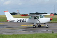 G-BSZO @ EGSH - Departing from Norwich. - by Graham Reeve