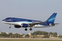 4K-AZ05 @ LMML - A319 4K-AZ05 Azerbaijan Airlines - by Raymond Zammit